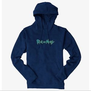 Rick and Morty Logo Unisex Hoodie